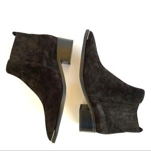 Marc Fisher Suede Yale Pointed Toe Bootie